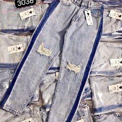 Quần Baggy Jeans Viền Hông giá sỉ