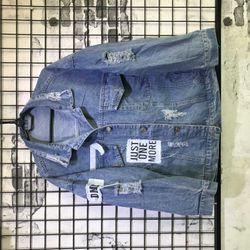 Áo Khoác Jeans Nam Unisex Freesize MS 11 giá sỉ