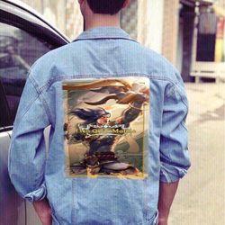 Áo Khoác Jeans Nam Unisex Freesize MS 12 giá sỉ