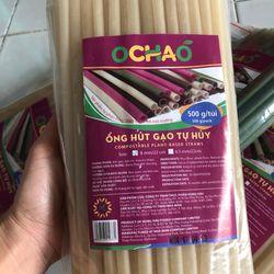 ống hút bột gạo tự huỷ OCHAO giá sỉ