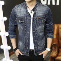 Áo Khoác Jeans Nam Unisex Freesize MS 26 giá sỉ