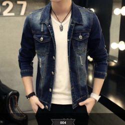 Áo Khoác Jeans Nam Unisex Freesize MS 28 giá sỉ