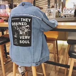 Áo Khoác Jeans Nam Unisex Freesize MS 3 giá sỉ
