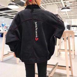 Áo Khoác Jeans Nam Unisex Freesize MS 18 giá sỉ