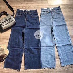 Quần Baggy Jeans Nữ Ống Loe giá sỉ