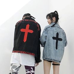 Áo Khoác Jeans Nam Unisex Freesize MS 20 giá sỉ