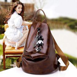 Balo Thời Trang Da Mềm Khóa Chéo Phong Cách Hàn Quốc D8073 giá sỉ
