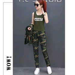 Set bộ đồ thể thao nữ lính Strict gồm áo khoác áo thun quần dài giá sỉ, giá bán buôn
