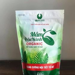 Mầm Đậu Nành Organic Bình An