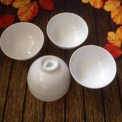 Bát/tô trắng ăn cơm Minh Long hàng Bát Tràng