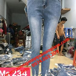 Xưởng chuyên sỉ quần jean nữ giá sỉ