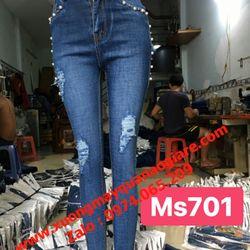 Xưởng sỉ quần jean nữ giá sỉ
