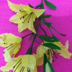 hoa ly từ giấy nhún giá sỉ