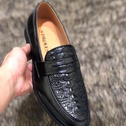 Giày lười nam da bò GL-06 giá sỉ