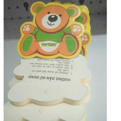 Tag quần áo trẻ em Hình gấu