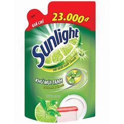 Nước rửa chén Sunlight trà xanh 750g túi giá sỉ