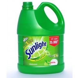 Nước rửa chén Sunlight trà xanh 38kg chai giá sỉ