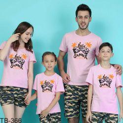 áo thun gia đình năng động 2 giá sỉ