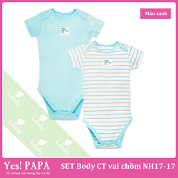 SET 2 Body Cộc Tay Vai Chồm LULLABY NH17-17