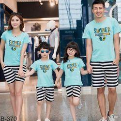 áo thun gia đình năng động 13 giá sỉ