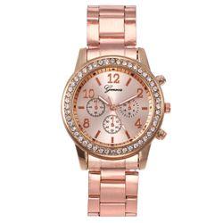 đồng hồ đeo tay đính đá siêu sang có sẵn pin giá sỉ