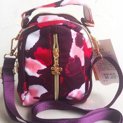 Túi đeo vai Mini Khóa Giữa Họa Tiết Xinh Xắn D9125 giá sỉ, giá bán buôn