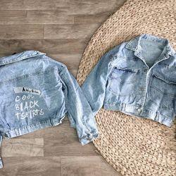 áo Khoác Jeans Nữ Thêu giá sỉ
