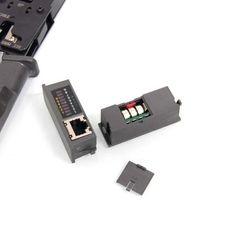 Kềm bấm mạng test cáp HT-022 dùng pin giá sỉ