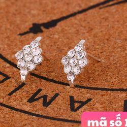 Bông tai mẫu y hình chốt Bông tai cũng bằng kim loại giá sỉ 8k