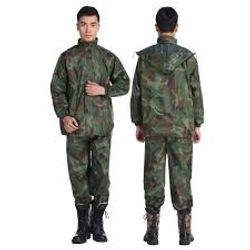 Bộ Quần Áo Đi Mưa Hình Lính Vải Dù Siêu Bền giá sỉ