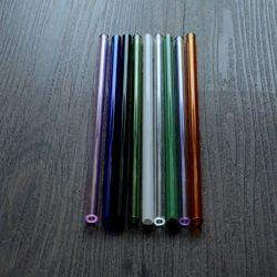 ống thủy tinh màu ngẫu nhiên 8mm x 20cm giá sỉ