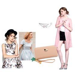 Ví nữ dáng dài cầm tay cho nữ sắc màu trẻ trung D8257 giá sỉ, giá bán buôn
