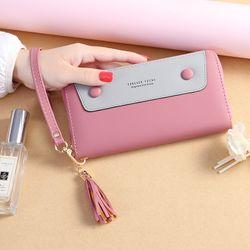 Ví Nữ Dài Cầm Tay Nhiều Ngăn Nhỏ Gọn Tiện Dụng Phong Cách Thời Trang Hàn Quốc D8262 giá sỉ, giá bán buôn
