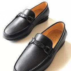 Giày lười nam da bò thật thời trang GM5 GELELI giá sỉ