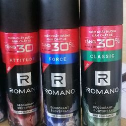 xịt toàn thân nam Romano giá sỉ