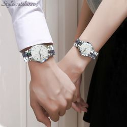Đồng hồ nam nữ Wlisth dây inox giá sỉ