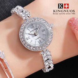 Đồng hồ nữ Kingnuos dạng lắc tay cực xinh giá sỉ