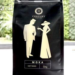 Cà phê nguyên chất Hạt MOKA đặc biệt 250g giá sỉ