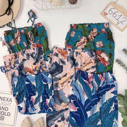 Set bộ áo 2d ống quần ống rộng Chất tone mát đẹp giá sỉ