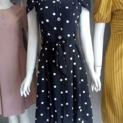 Đầm váy váy bi xinh chất mát nhẹ tênh giá sỉ