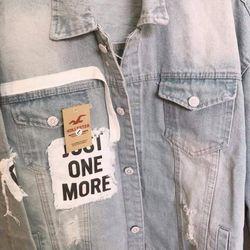 Áo khoác Jeans Nam ảnh thật giá sỉ