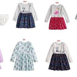 Đầm Disney bé gái 1-10T