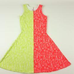 Váy xòe gấu hoa dây Sz 9 đến 15 tuổi giá sỉ