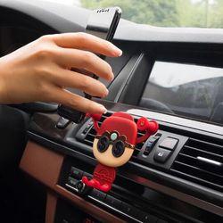 Giá đỡ điện thoại hình thần tài gắn cửa gió điều hoà ô tô giá sỉ