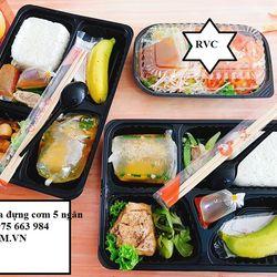 Đơn vị bán hộp nhựa đựng cơm 5 ngăn giá rẻ tại TPHCM giá sỉ