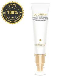 Kem trang điểm Sakura CC Cream Flawless Control Base SPF50 PA 40ml giá sỉ