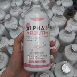 sữa tắm trắng da toàn thân Alpha ArButinn Collagen giá sỉ