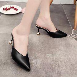 Giày cao gót bít mũi gót nhọn - CG321 giá sỉ