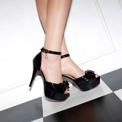 Giày cao gót nơ 2 tầng - CG676 giá sỉ