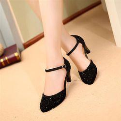 Giày cao gót đính đá - CG1107 giá sỉ